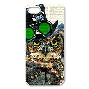 Different Style Custom Personalized Dictionary Hipster Owl Vintage Retro Iphone 5 Case Dictionary Owl Cover Iphone 5