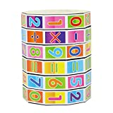 Hisoul Magic Cube Toy Baby Funny Number Multi Activity Cube Math Educational Toy - Best Educational Gifts for Boys and Girls (A)