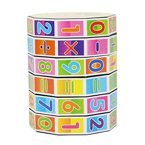 LIKESIDE New Children Kids Mathematics Numbers Magic Cube