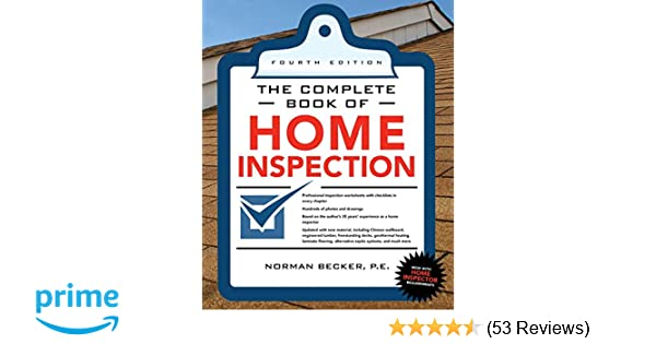 Complete Book Of Home Inspection 4 E The Complete Book Series