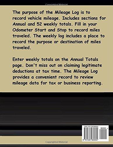 2018 mileage log the 2018 mileage log was created to help vehicle