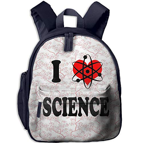 Ojinwangji I Love SCIENCEChildren's Full-Size Printed Backpack (with Pocket)
