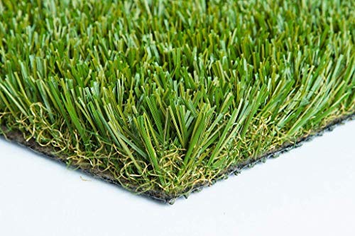 98 oz Thick Heavy Artificial Synthetic Grass Turf Dog Many Sizes (4' x 20' = 80 Sq Ft)