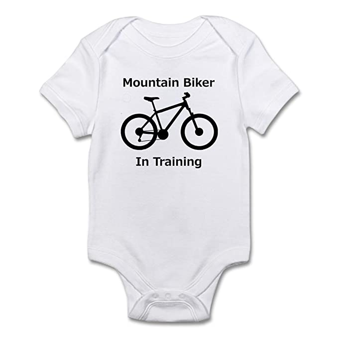 b020251c7 CafePress - Mountain Biker In Training Body Suit - Cute Infant Bodysuit Baby  Romper: Amazon.ca: Clothing & Accessories