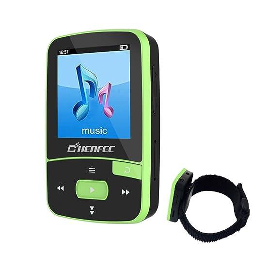 3 opinioni per Chenfec lettore MP3 Bluetooth 8 GB mini clip sport lettore musicale riproduzione