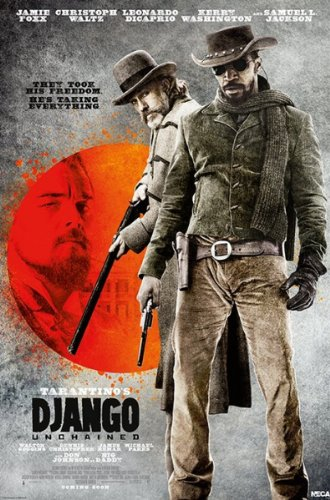 352377839 Django Unchained - 27 X 40 Movie Poster - Style F