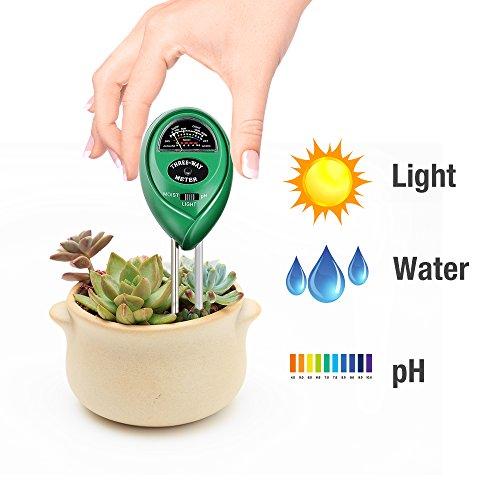 Review Soil pH Meter, 3-in-1