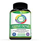Digestive Enzyme Supplement With Probiotics & Prebiotics - High Potency Multi-Enzymes For Optimal Digestive System - Plant Based - Lactase, Amylase, Bromelain & 15 Various Enzymes - 60 Capsules
