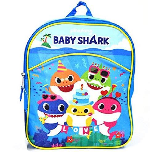 "5 Baby Shark 11"" Mini Backpack"