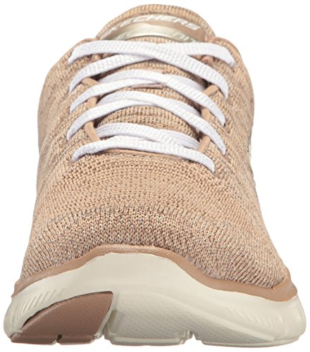 Taupe Damen Textilmaterial Flex Energy Appeal 0 Sneaker 2 aus High Natural 12756 v4RqBO