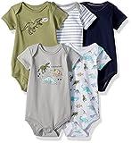 #8: Hudson Baby Infant Cotton Bodysuits