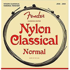 Fender .028 – .043 130 Nylon Ball End Medium Folk Guitar Strings