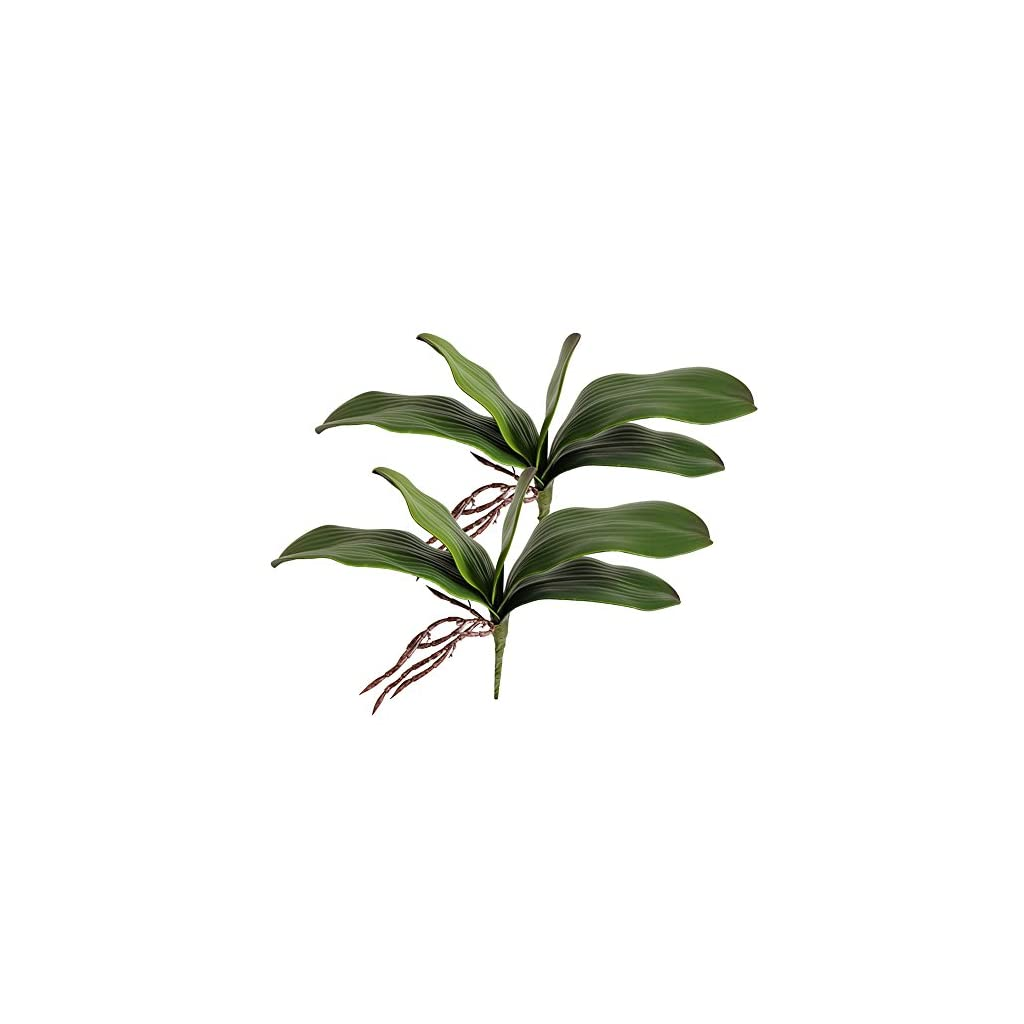 Htmeing-38-Inch-Artificial-Phalaenopsis-Flowers-Branches-Real-Touch-Not-Silk-Orchids-Flowers-for-Home-Office-Wedding-DecorationPack-of-2