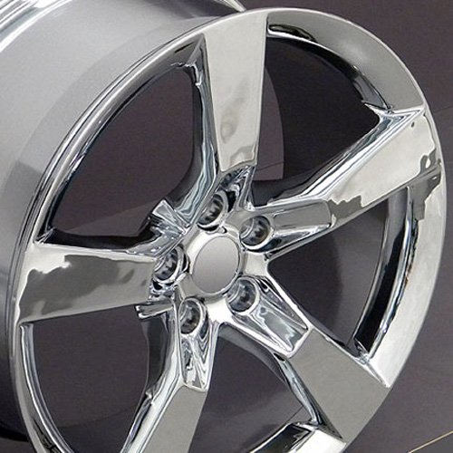 20-inch Fits Chevrolet - SS Aftermarket Wheels - Chrome 20x8 - Set of 4