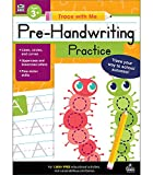 Carson Dellosa - Pre-Handwriting Practice Activity Book for Toddler, PK, K, 1st Grade, Paperback, 128 Pages, Ages 3+ (Trace with Me)