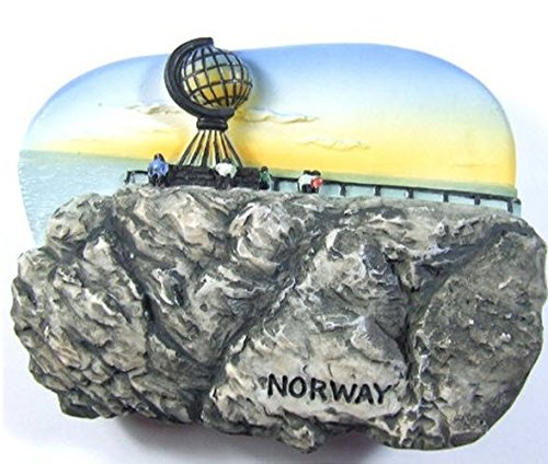 Midnight Sun, North Cape, NORWAY Souvenir Fridge Magnet Toy Set 3D Resin Collection