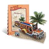 CubicFun 3d Puzzle - Southeast Asia Philippines Jeepney