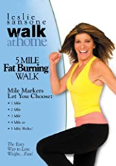 """Are you ready to sweat? Then let Leslie show you how to """"walk like a runner"""" in this exhilarating multi- muscle cardio and fat-blasting walk. With our classic, no frills, easy to follow Walk At Home steps along with Leslie's infectious enthus..."""