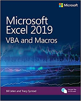 Microsoft Excel 2019 VBA and Macros (Business Skills
