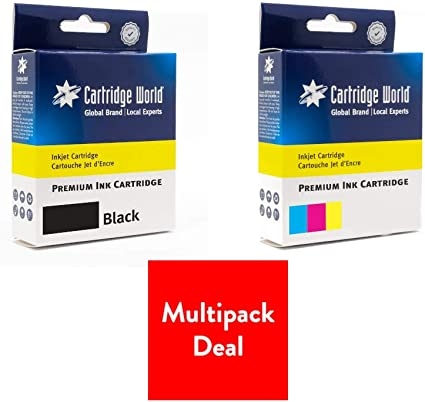 Cartridge World - Cartucho de Tinta Compatible con HP 300 XL: Amazon.es: Oficina y papelería