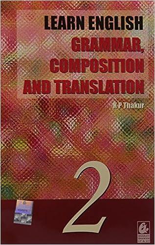 Amazon In Buy Learn English Grammar Composition Translation 2