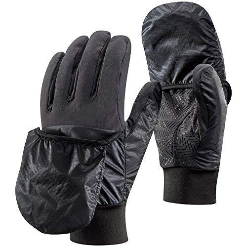 Schwarz Diamond wind hood handschuhe skihandschuhe fingerhandschuhe