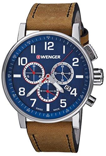 WENGER ATTITUDE CHRONO Men's watches 01.0343.101