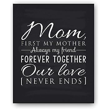 Amazon.com: Mom Gift, Mom Quote Sign, Mom Chalkboard Print