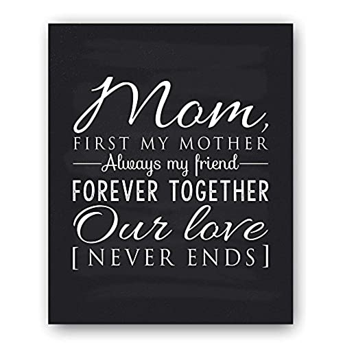 mom gift mom quote sign mom chalkboard print unique gift for mom and mom christmas gift mom wall decor best mom gift mom gift from daughter