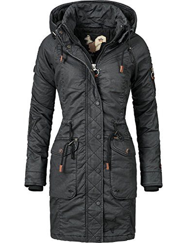 Winter Jacket xxl Mell Nero Khujo Colori Xs 5 Cotton Ladies` nIBxEq
