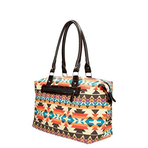 mujer para Beagles Weekend 16111 986 Bolso diseño aztecas waHHFxp8n