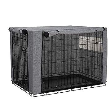 QEES JJZ1019 cobertores para jaulas de Perro, Resistentes al ...