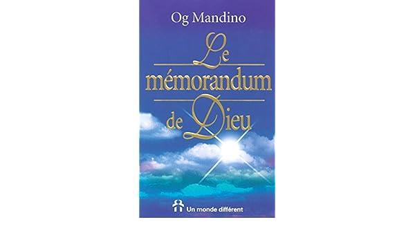 DE MEMORANDUM MANDINO OG LE MP3 TÉLÉCHARGER DIEU