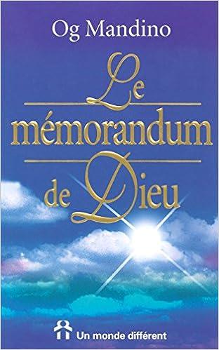 le memorandum de dieu og mandino mp3