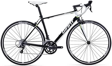Giant Defy 3 2016 Road Bike, Black White Green