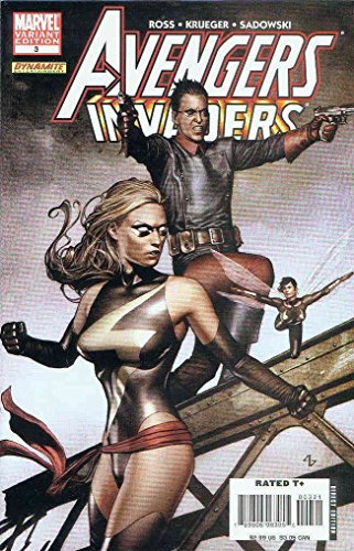 Avengers/Invaders #3A VF/NM ; Marvel comic book Alex Ross Spider