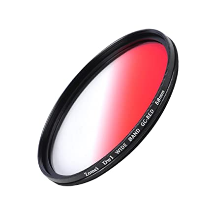 Image Unavailable Not Available For Color Jili Online Ultra Thin Graduated Neutral Density Red ND Filter 58mm