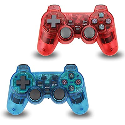 2pcs-pack-wireless-ps2-game-controller