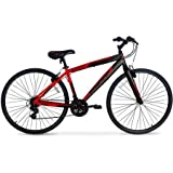 700c Hyper SpinFit Men's Hybrid Bike, Red