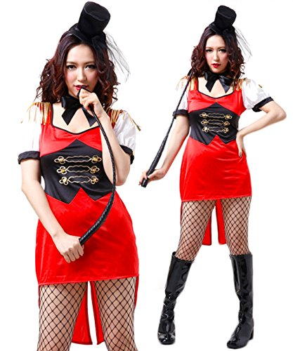 Circus Magician Trainer Tuxedo Costume Uniform Cosplay (Circus Magician Costume)