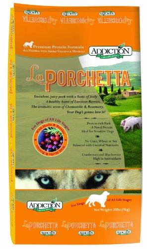 Addiction Premium Protein Adult Dry Dog Food, La Porchetta, 20 Pounds, My Pet Supplies