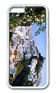 Mountain village of Casares PC Transparent Hard Case for Apple iPhone 6(4.7 inch)