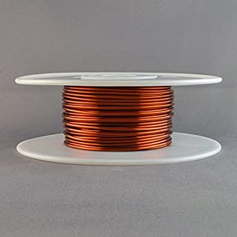 Magnet wire 14 gauge awg enameled copper 80 feet coil winding magnet wire 14 gauge awg enameled copper 80 feet coil winding crafts 1lb 200c greentooth Choice Image