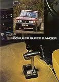 range rover 1980 - 1980 RANGE ROVER SCHULER SUPER RANGER FF COLOR SALES BROCHURE - UK - EXCELLENT ORIGINAL !!