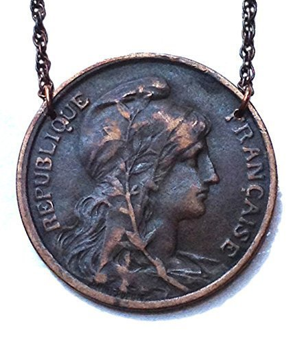 Real Victorian Coin Necklace (