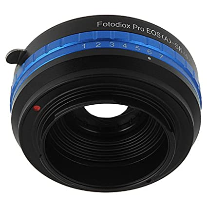 Fotodiox Pro Lens Mount Adapter Mamiya 645 Mount Lens to Sony E ...