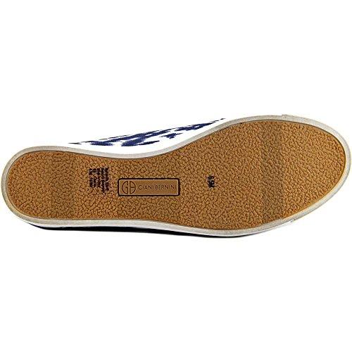 Giani Bernini Donna Charaa Slip Alto Slip On Sneakers Moda Lavato Indaco