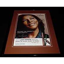 Queen Latifah 11x14 Facsimile Signed Framed 2012 Covergirl Advertising Display