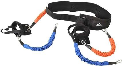 adidas Widerstandsband Vertical Jump Trainer Entrenador de Salto, Unisex, Negro