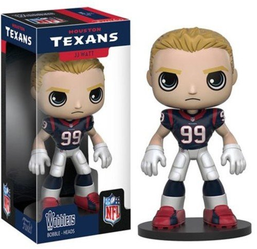 Funko Wobbler: NFL - JJ Watt Action (Football Bobble Head)